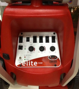 lobster elite 3 spin control and speed control panel