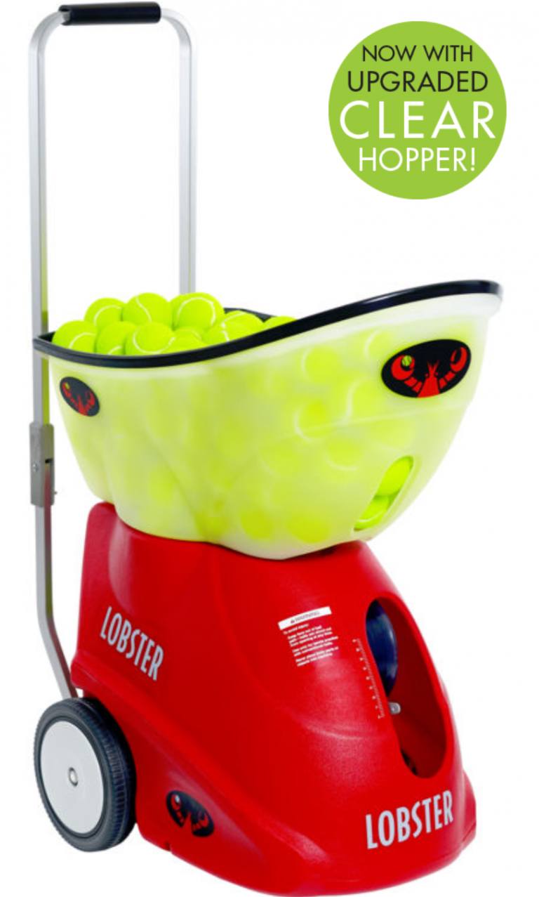 lobster elite grand four tennis ball machine picture