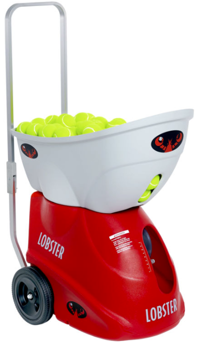 lobster elite three tennis ball machine