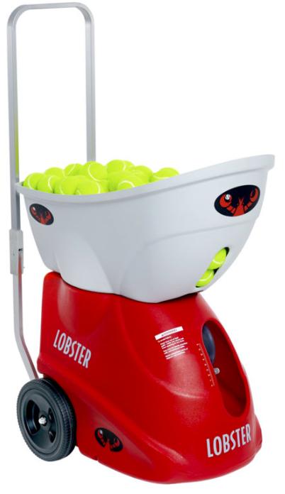 lobster elite three tennis ball machine