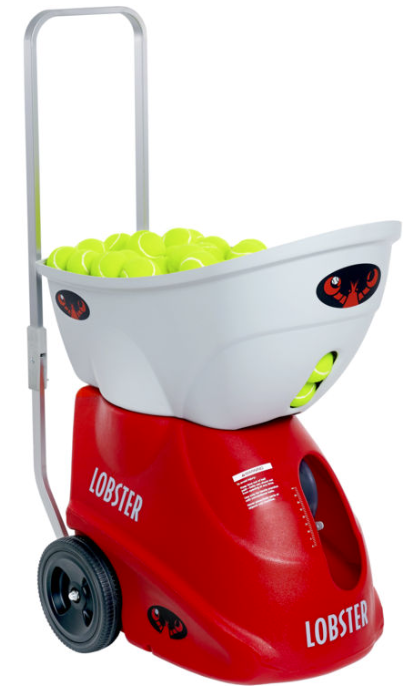 lobster elite two tennis ball machine