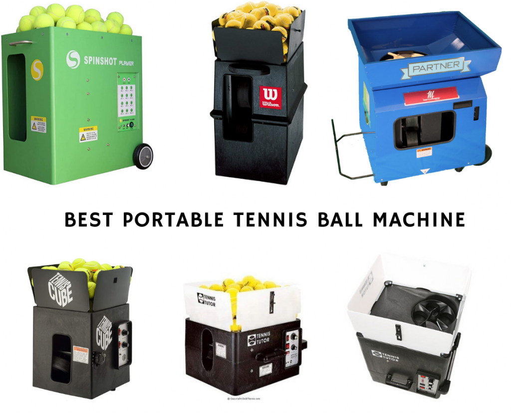 Best Portable Tennis Ball Machine