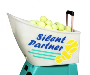 silent partner scoop quest with tennis balls