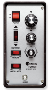 tennis tower control panel