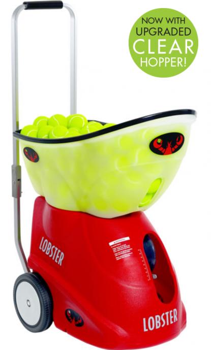 lobster elite grand four tennis ball machine picture